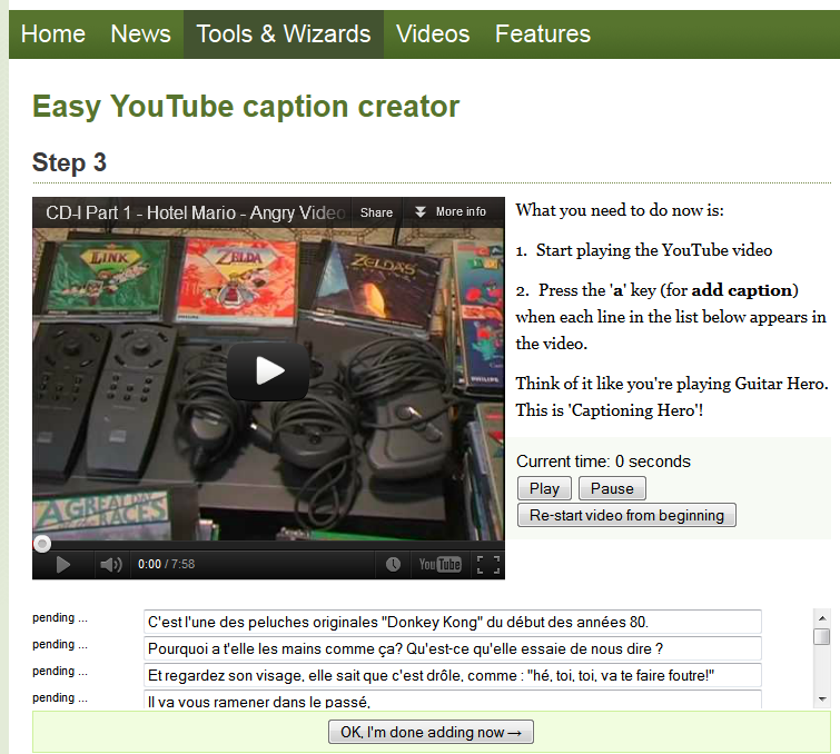 """(Sous-titrage en """"Closed Captions"""" sur Youtube) Ma méthode de sous titrage  Tuto14-3abea0b"""