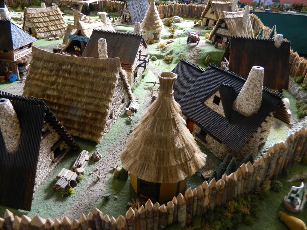 Le Village d'Astérix le Gaulois au 1/40  Dscn2959-3c06a81